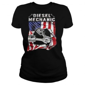 Independence Day flag american diesel mechanic shirt