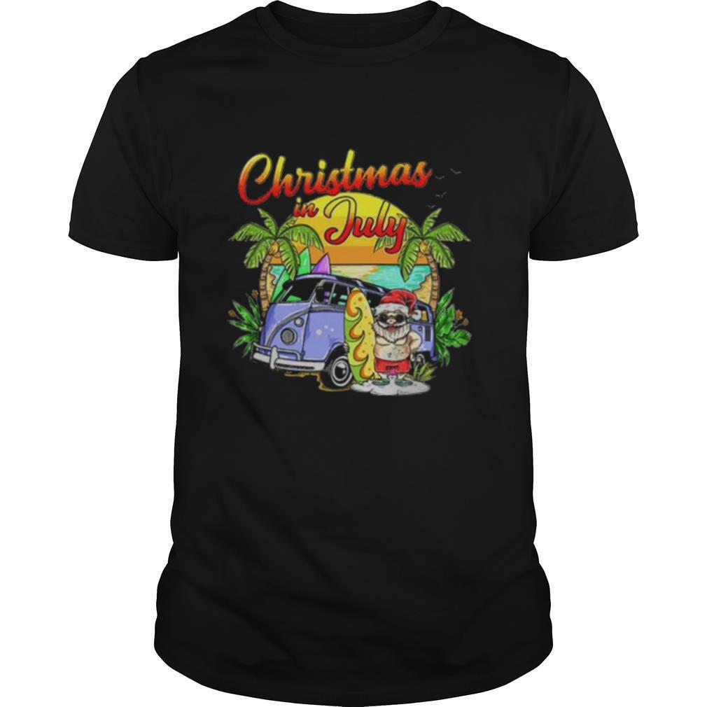 Summer Christmas In July shirt