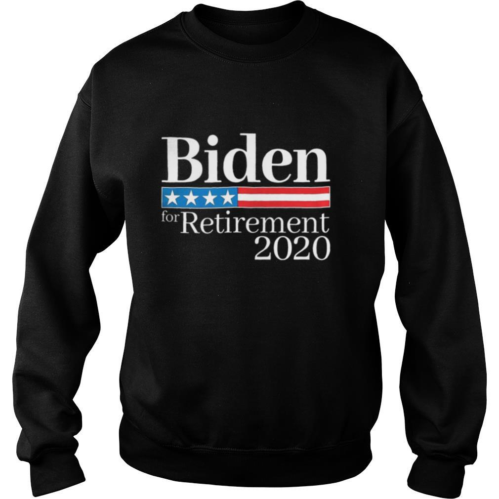 Biden for retirement 2020 america independence day shirt
