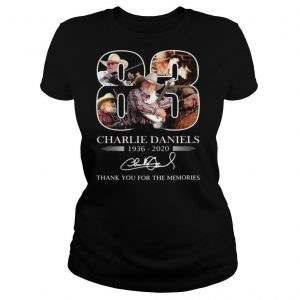 Charlie Daniels 83 1936 2020 Signature Thank You For The Memories shirt