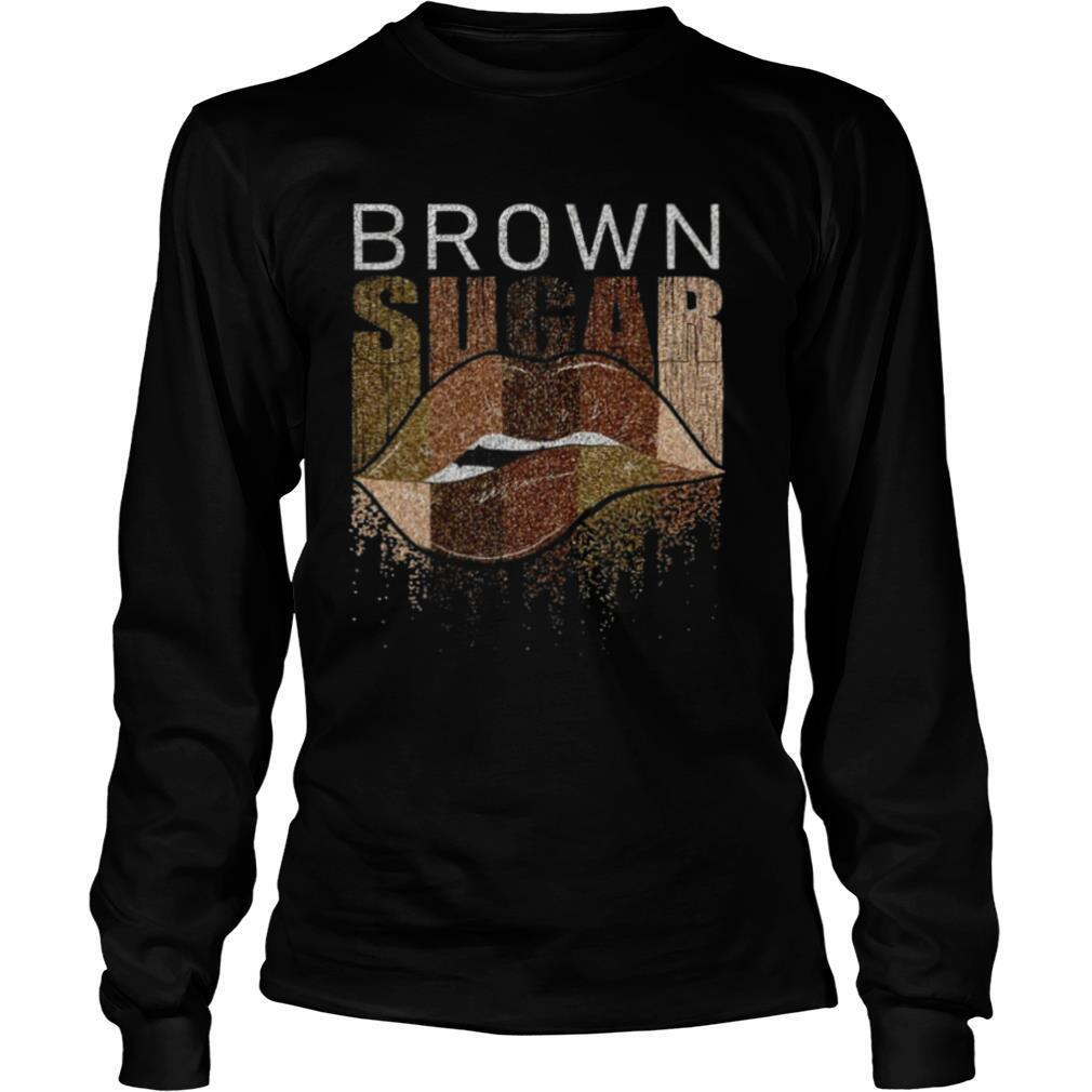 Lips Brown Sugar shirt