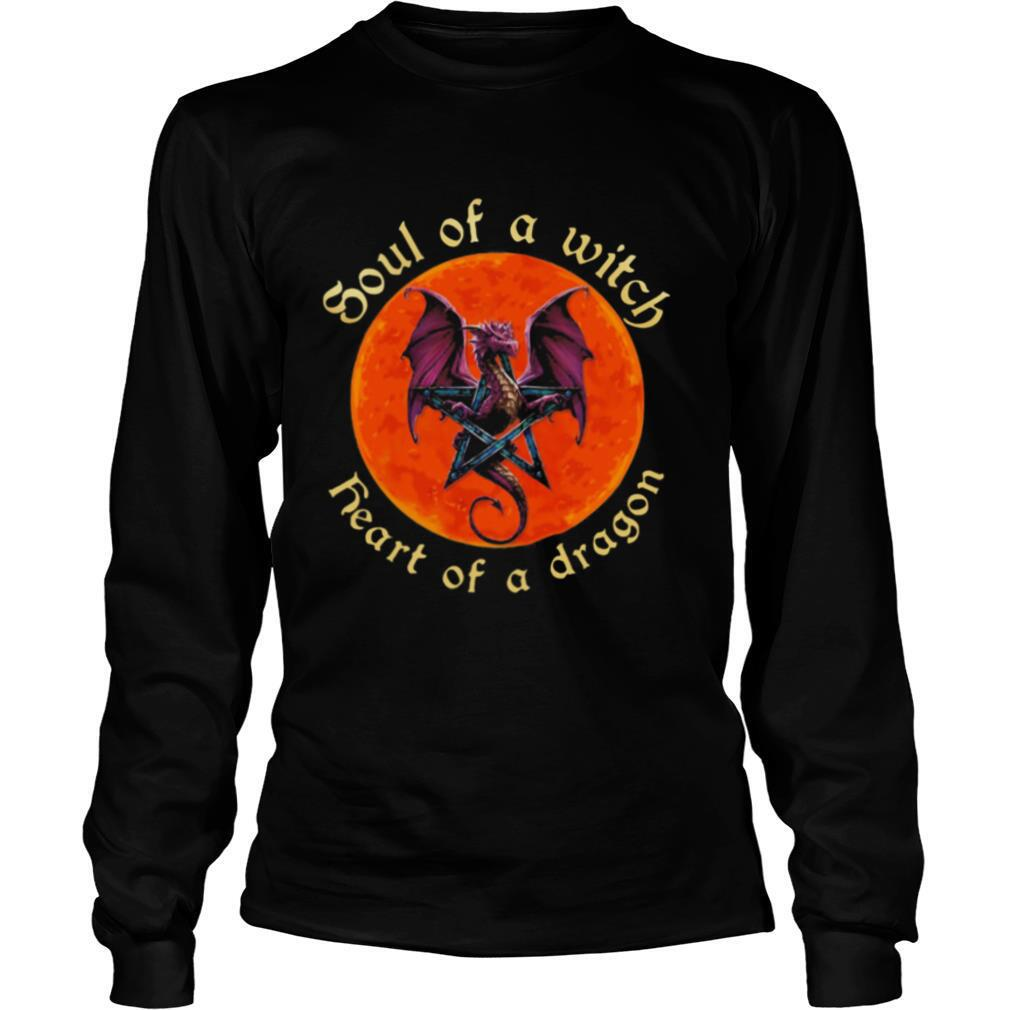 soul of a witch heart of a dragon moonblood shirt
