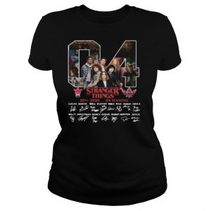 04 stranger things 2016 2020 04 seasons signatures shirt