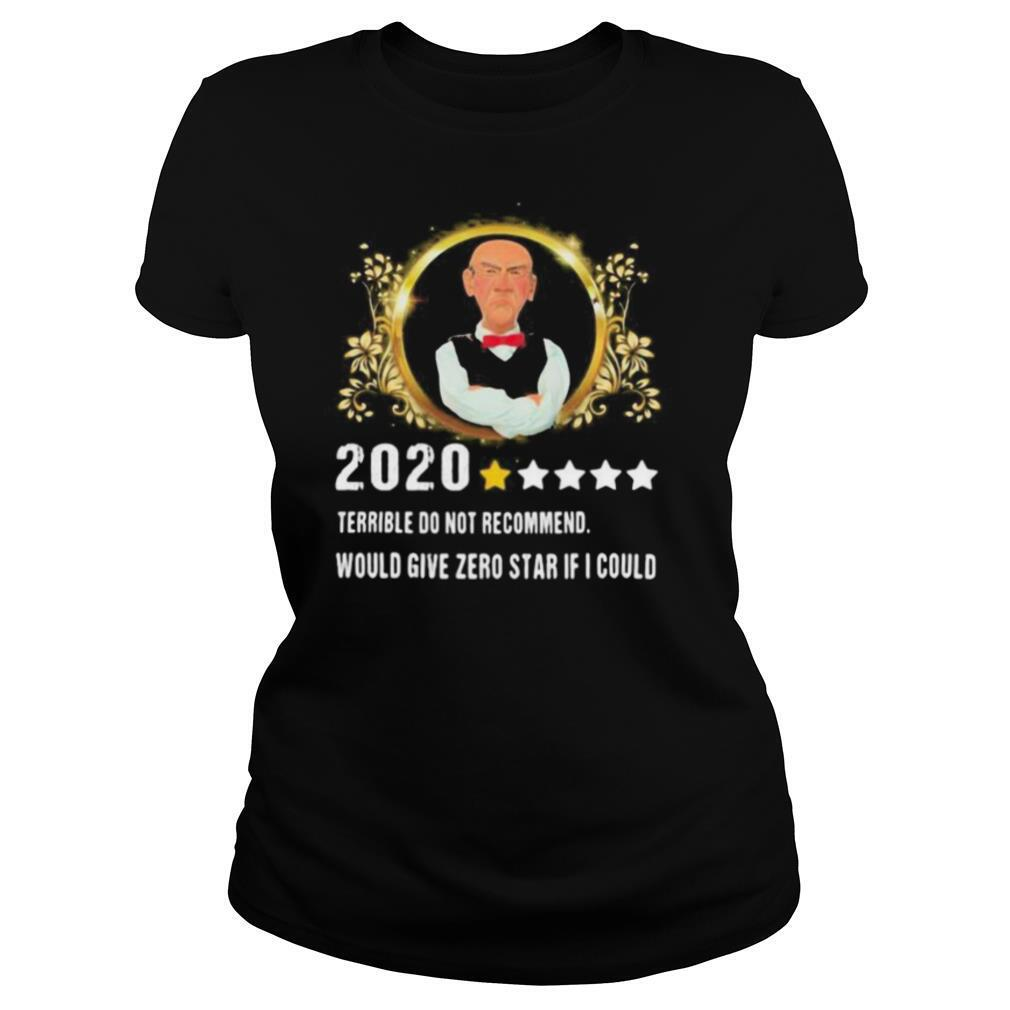 2020 terrible do not recommend would give zero star if i could stars shirt