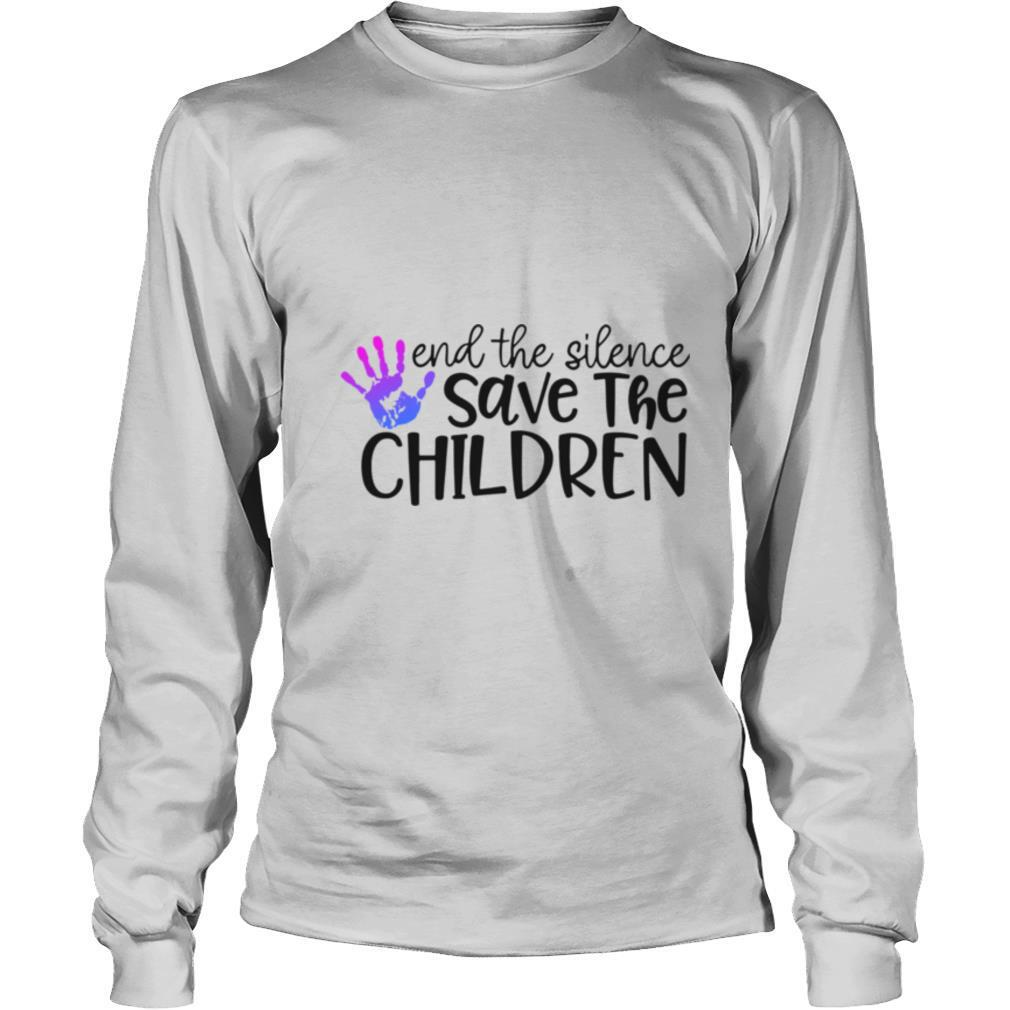 End The Silence Save The Children shirt