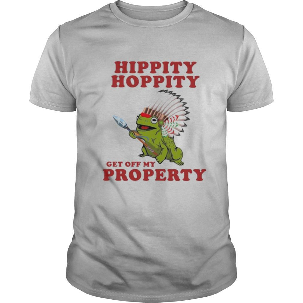 Frog Hippity Hoppity Get Off My Property shirt