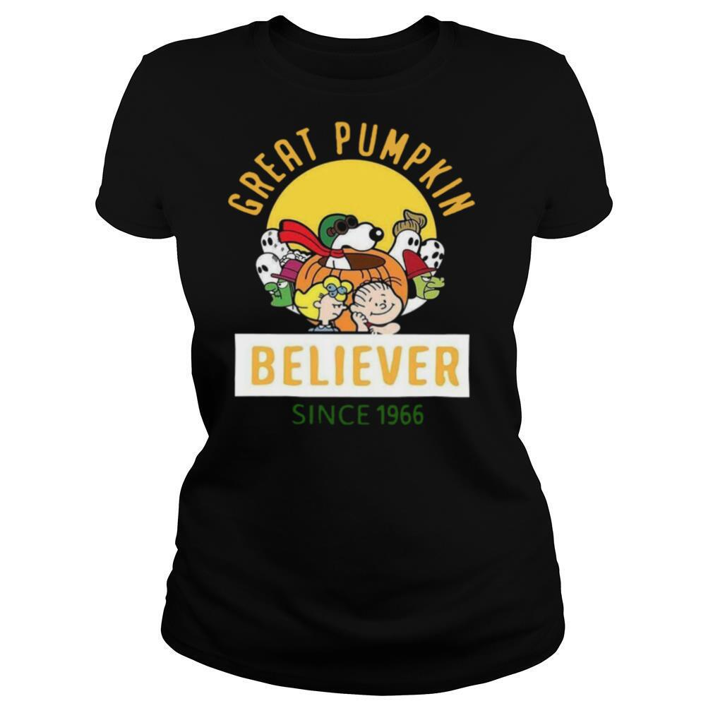 Great Pumpkin Believer Since 1966 shirt