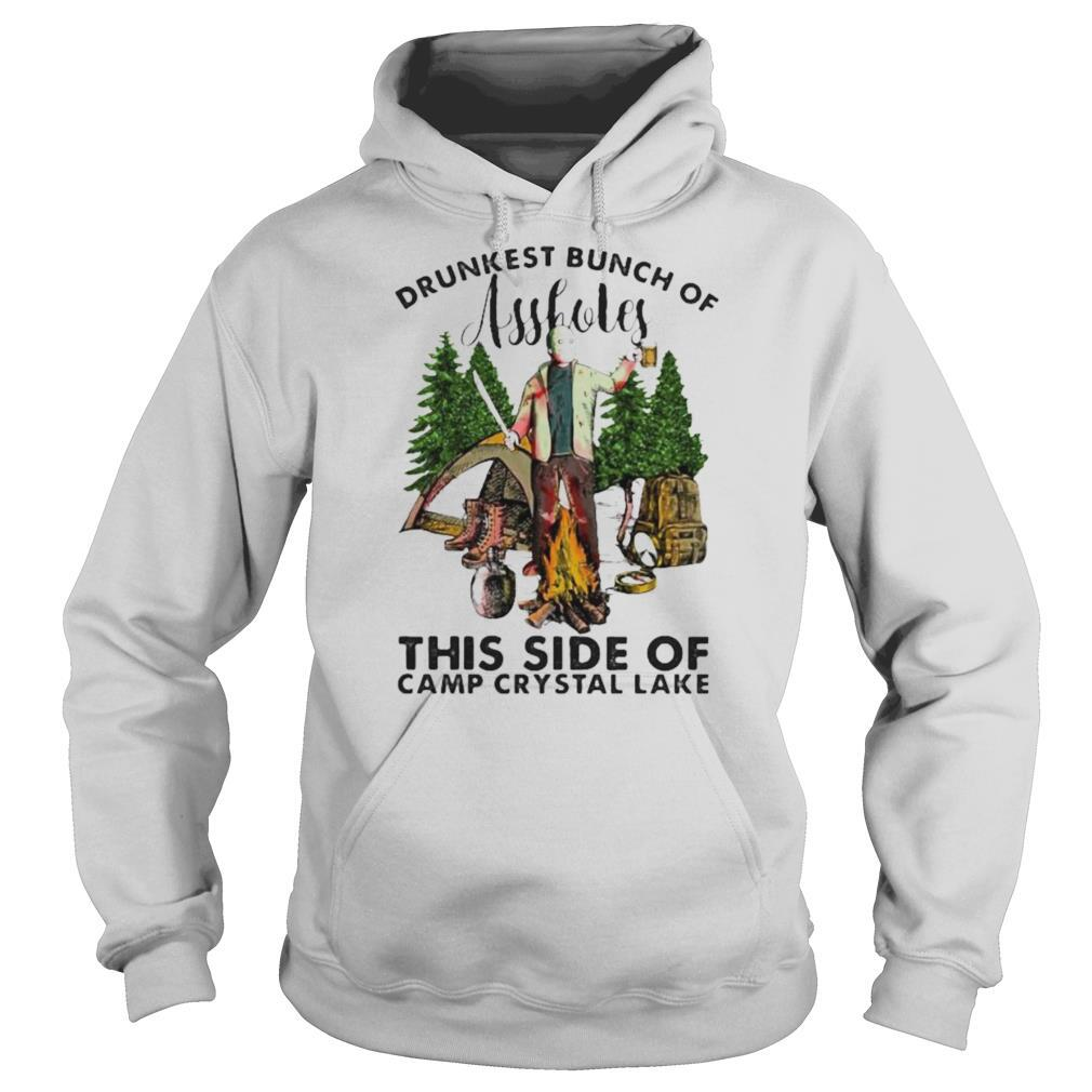 Halloween jason voorhees drunkest bunch of assholes this side of camp crystal lake shirt
