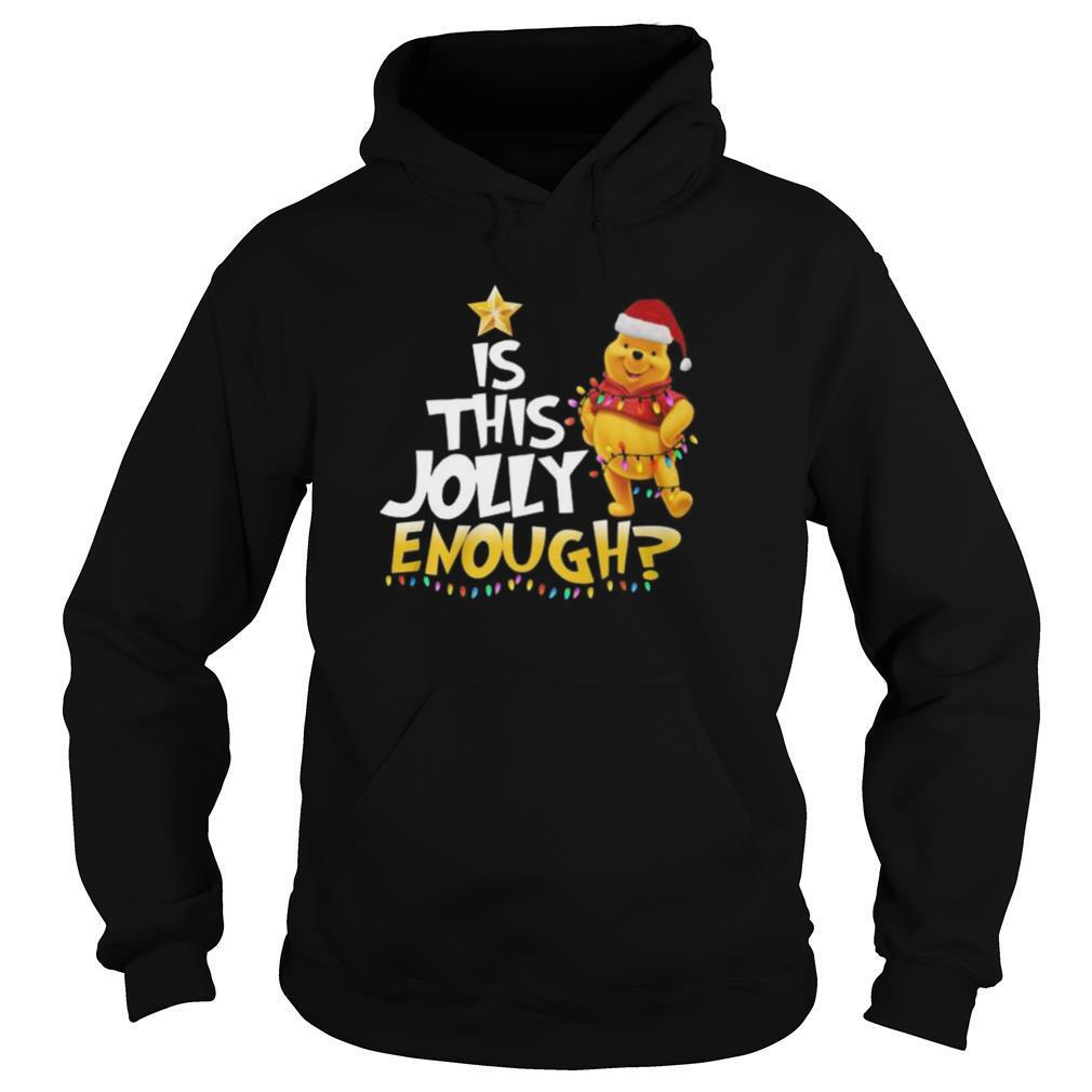 Merry christmas pooh is this jolly enough shirt