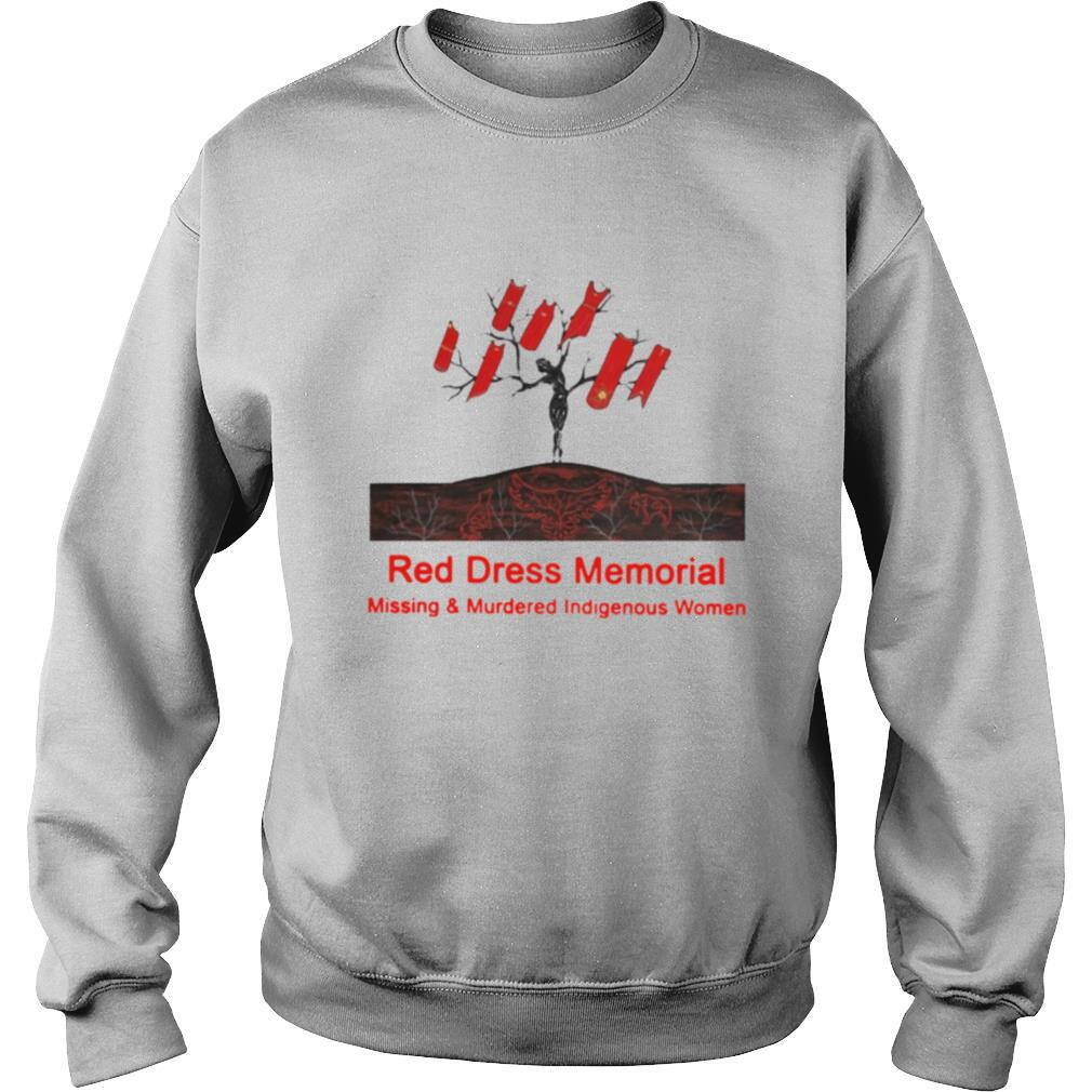 Red Dress Memorial Missing And Murdered Indigenous Women shirt