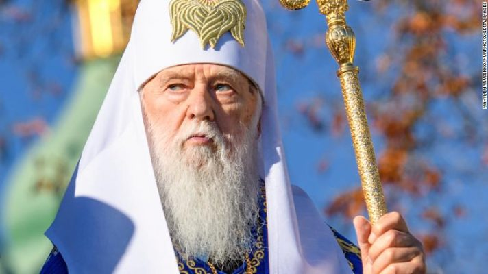 Ukrainian church leader who called Covid-19 'God's punishment' for same-sex marriage tests positive for virus