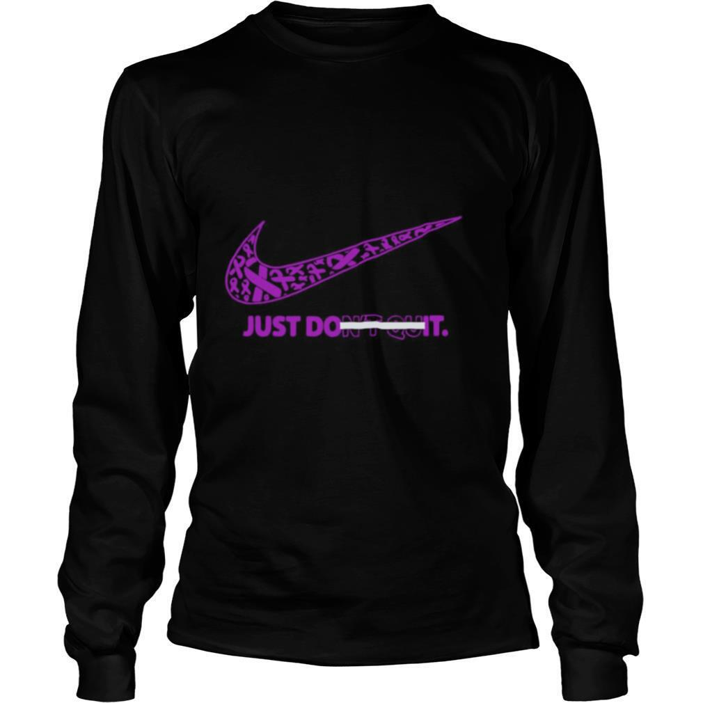 Breast Cancer Awareness Nike Just Don't Quit shirt