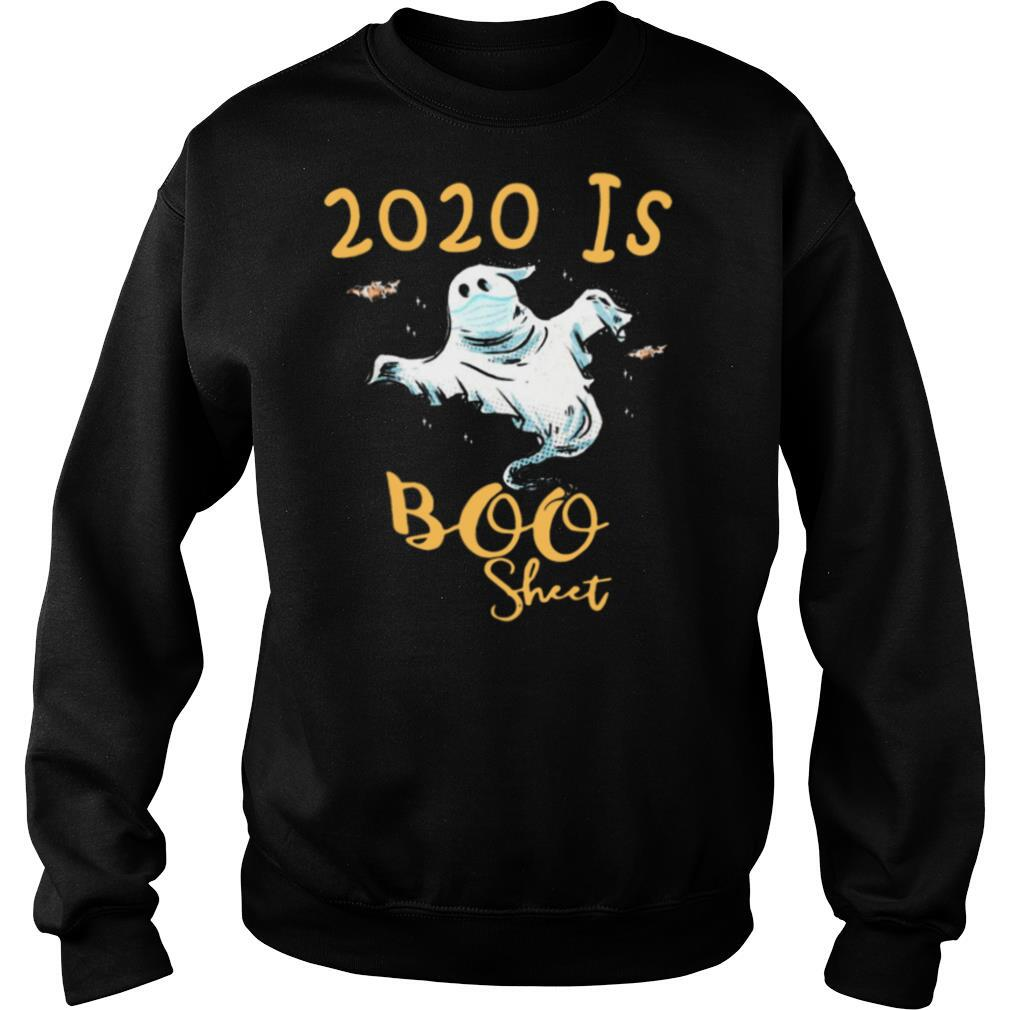 Ghost Face Mask 2020 Is Boo Sheet shirt