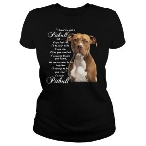 I Know I'm Just A Pitbull But If You Feel Sad I'll Be Your Smile If You Cry shirt