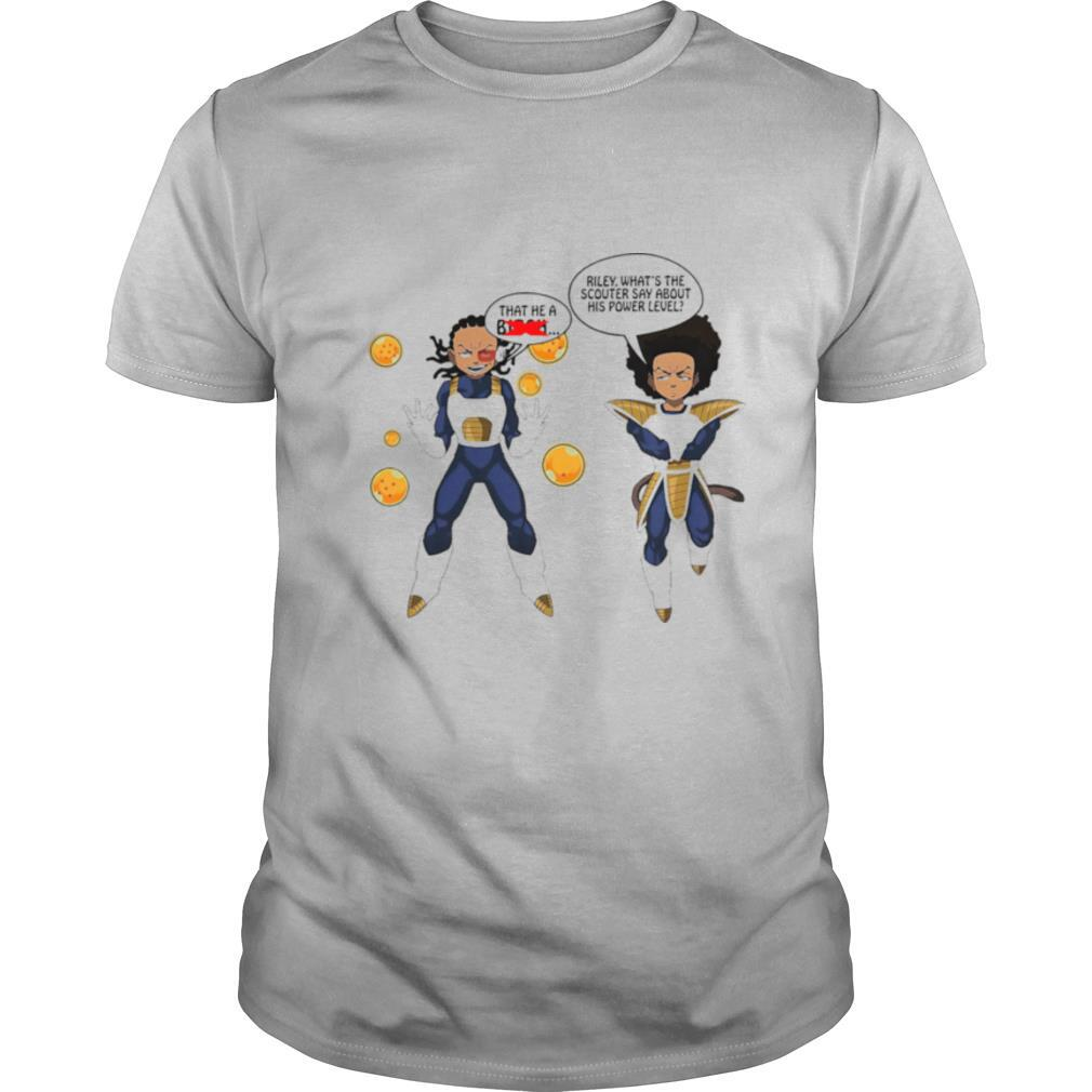 That The A Biech Riley Whats The Scouter Say About His Power Level shirt