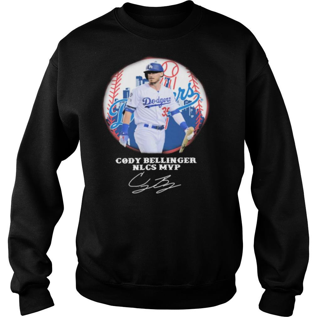 Cody Bellinger Nlcs Mvp Los Angeles Dodgers signature shirt
