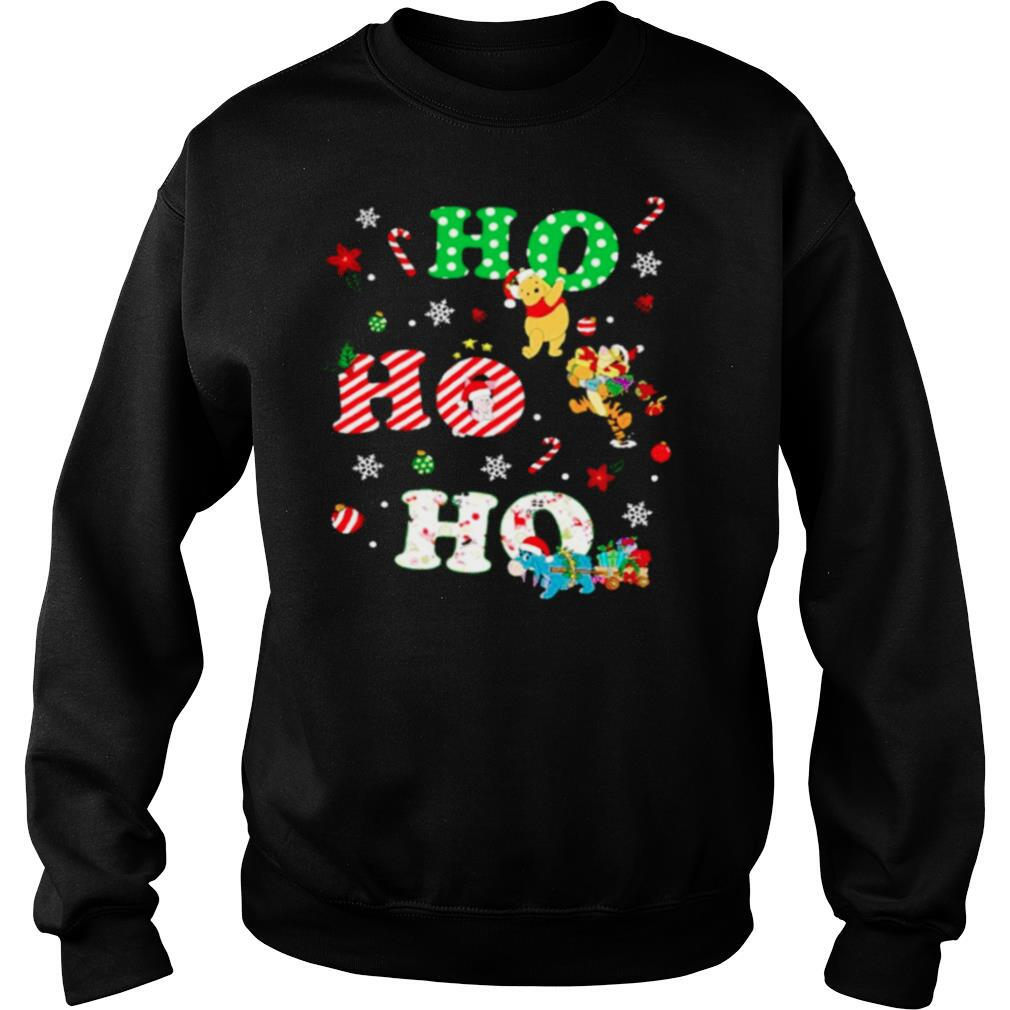 Ho Ho Ho Pooh And Friends Christmas shirt