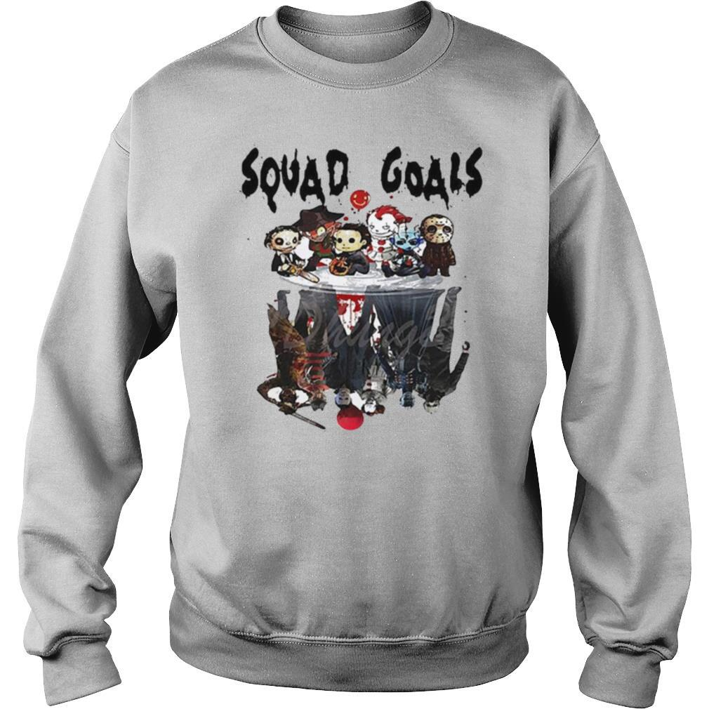Horror Movie Characters Reflection Squad Goals shirt