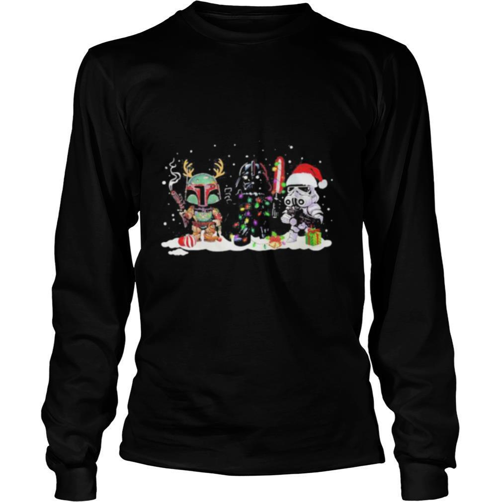 Merry christmas star wars darth vader shirt