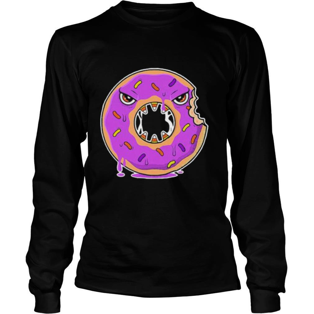 Scary Donut Costume Happy Halloween shirt