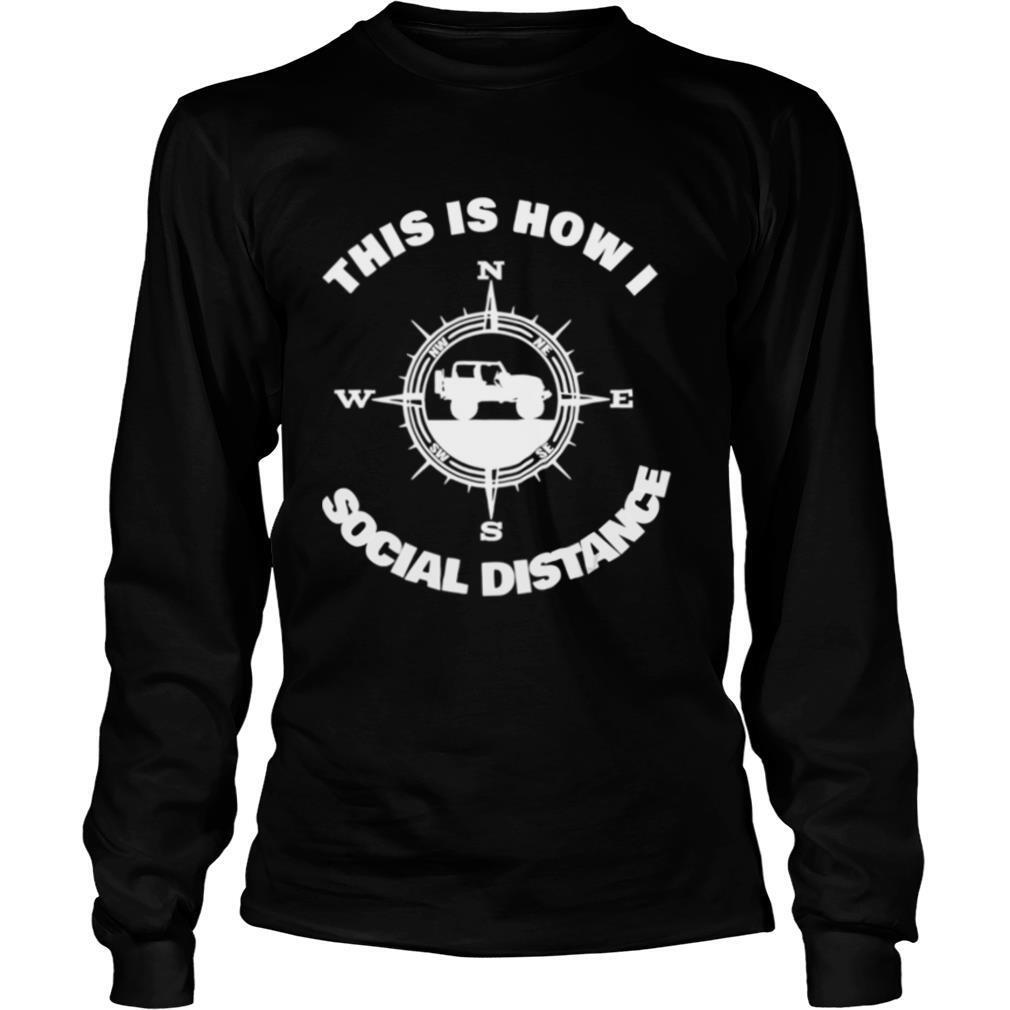 Social Distance Jeeping Off Road shirt