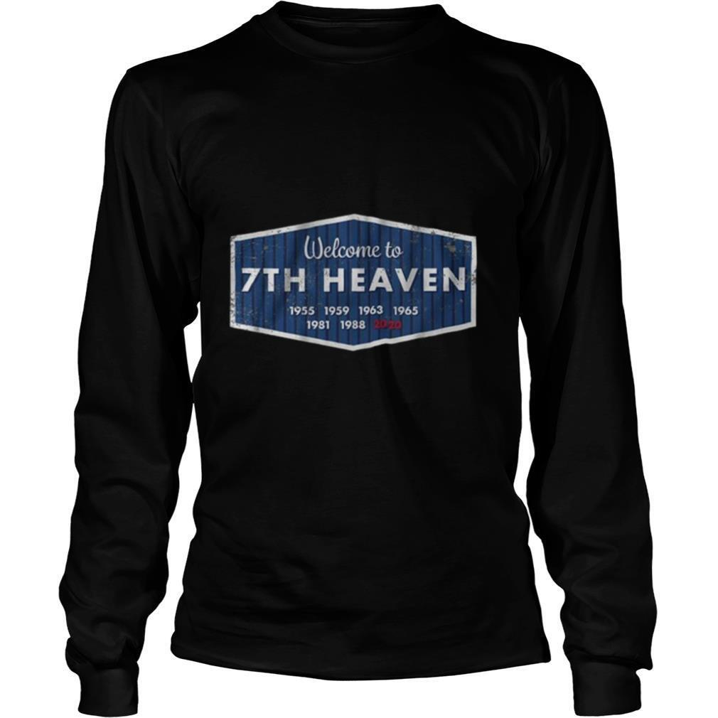 Welcome to 7th Heaven Los Angeles Baseball shirt