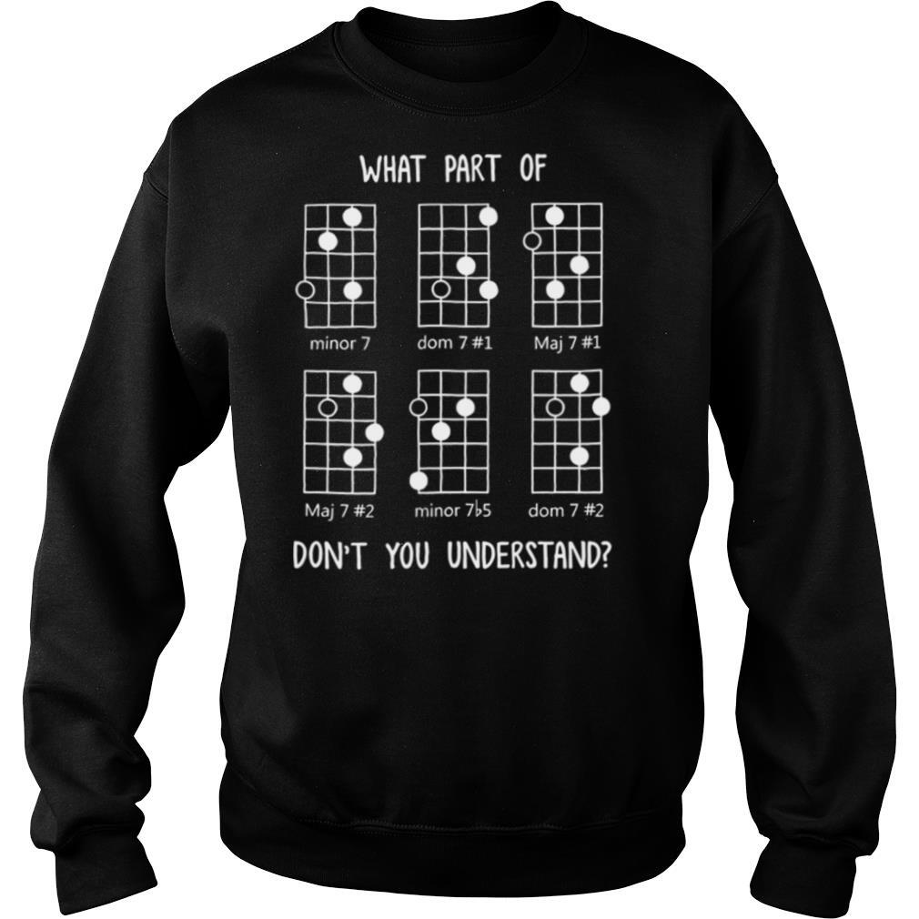 What Part Of Don't You Understand shirt