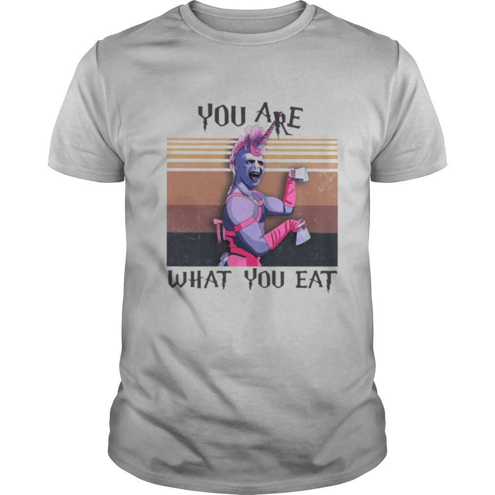 You Are What You Eat Vintage Retro shirt