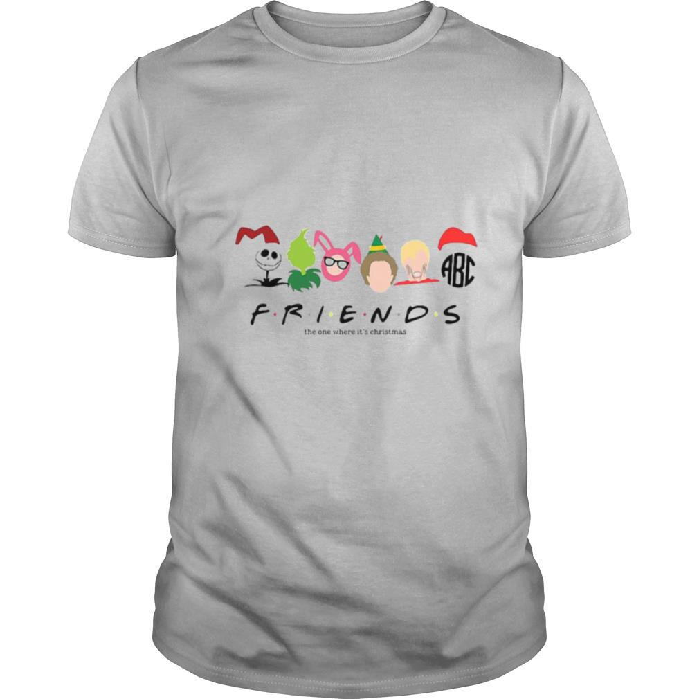 Friends The One Where It's Christmas shirt