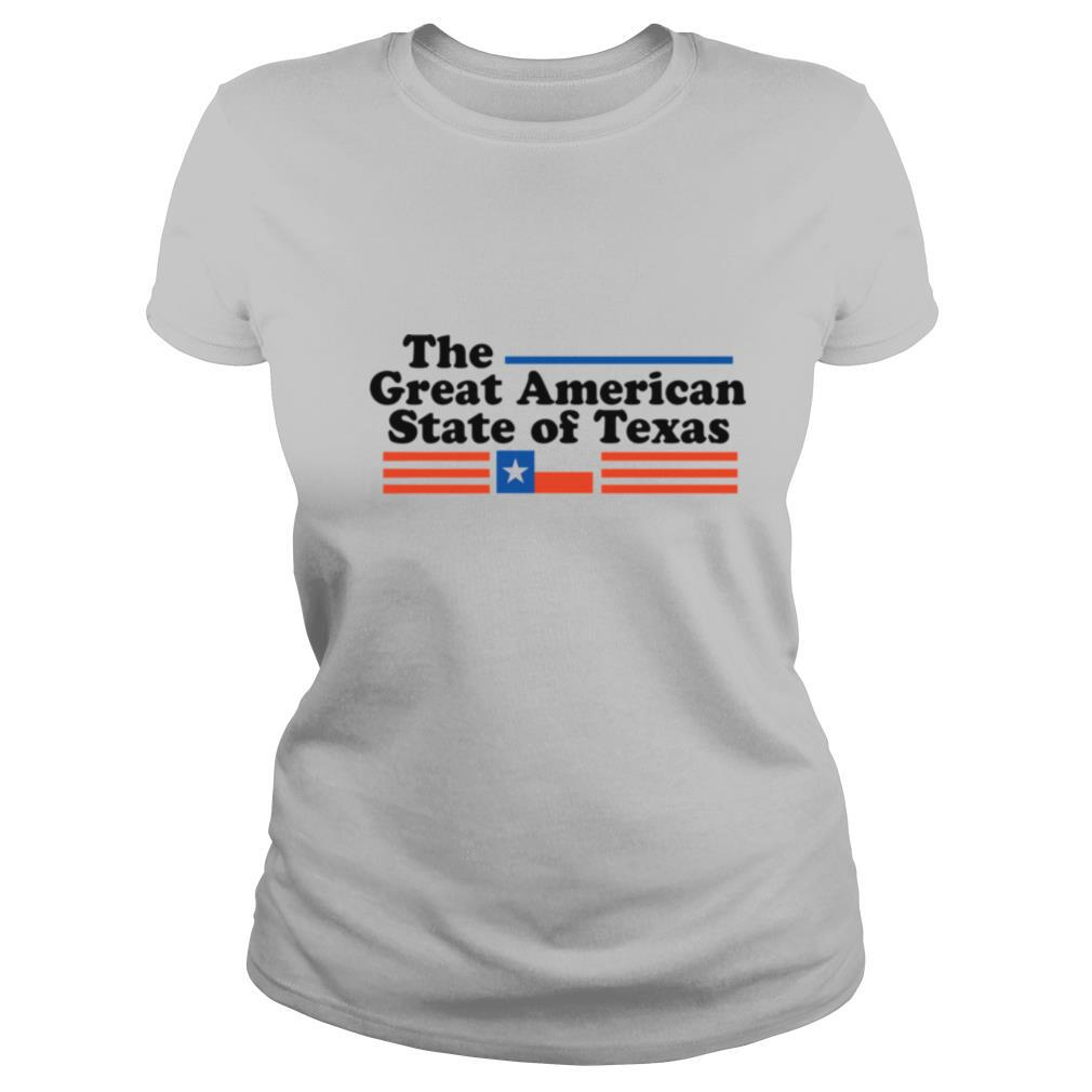 The Great American State Of Texas shirt