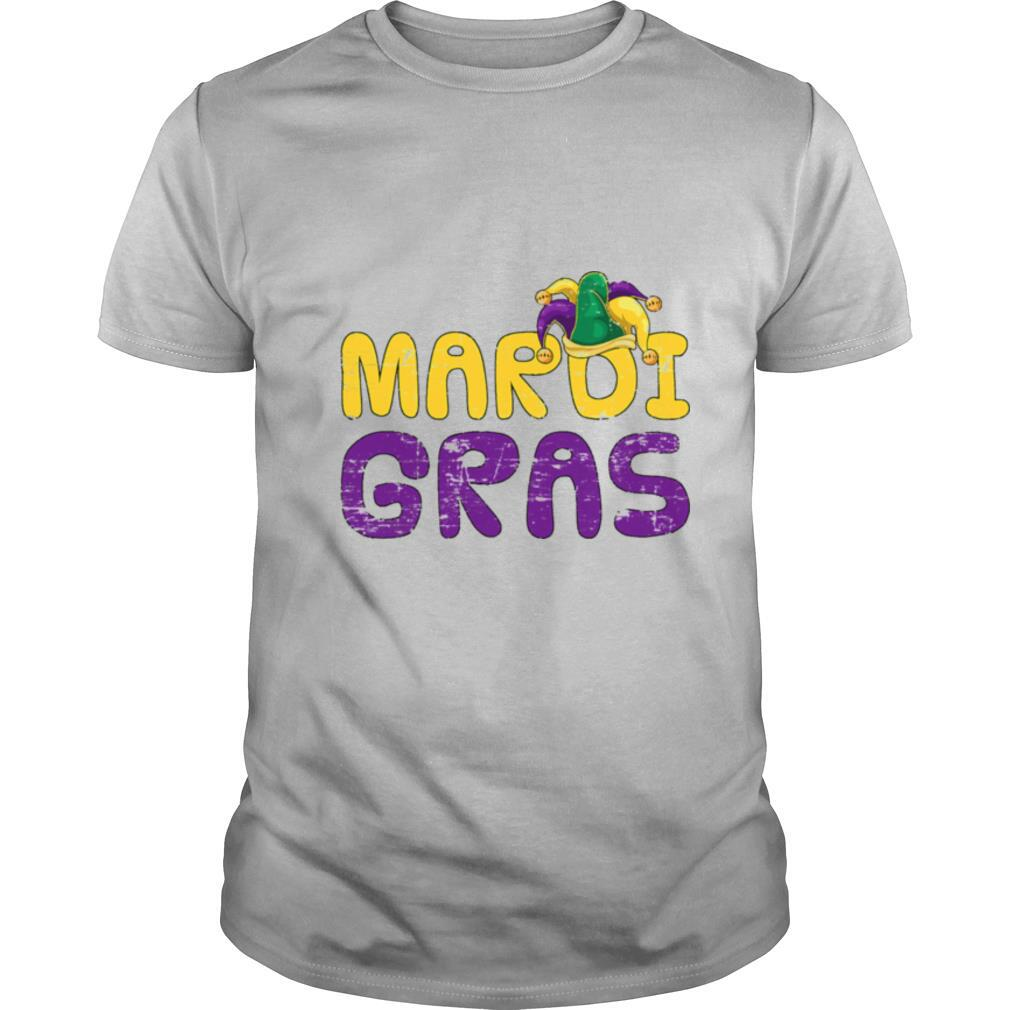 Costume Party Lover Jester Hat Carnival Mardi Gras shirt