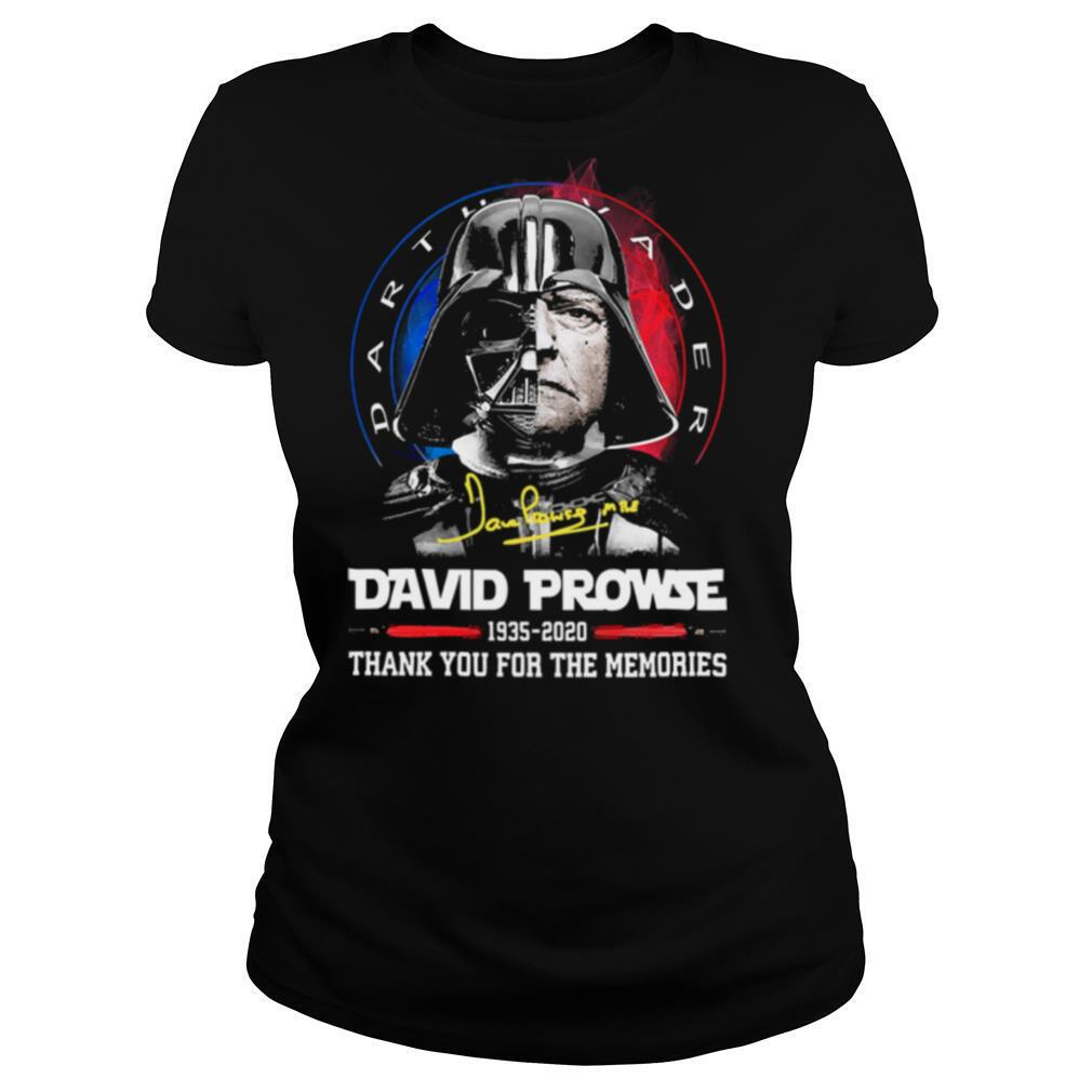 Dave Prowse 1935 2020 thank you for the memories signature shirt