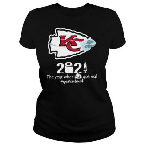Kansas City Chiefs face mask 2021 toilet paper the year when got real quanrantined shirt