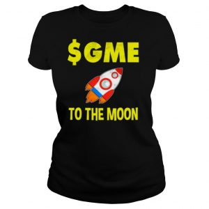 $GME To The Moon Ff GameStonk shirt