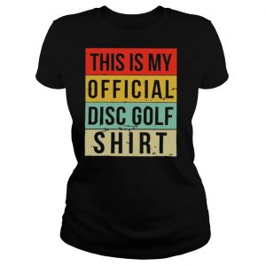 This Is My Official Disc Golf Shirt Vintage shirt