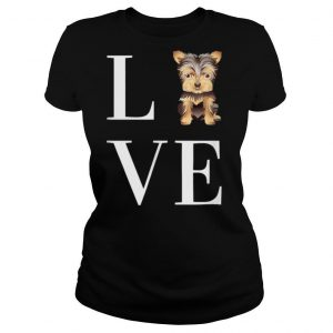 Yorkie Puppy Yorkshire Terrier Cute Tiny dog small dog breed T Shirt