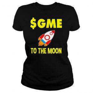 $GME To The Moon Gamestonk Shirt
