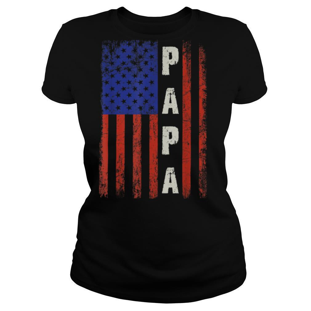 Mens Proud Papa Funny Fathers Day 2021 T Shirt