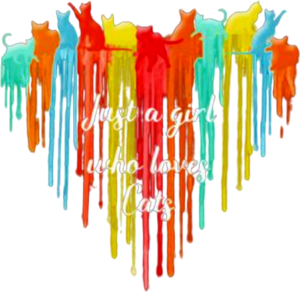 Just A Girl Who Loves Cats Watercolor Shirt