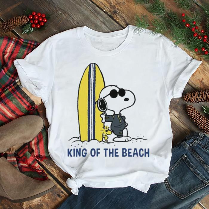 King Of The Beach Snoopy Shirt