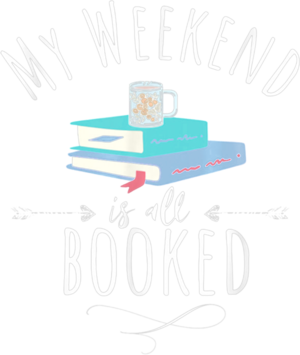 My Weekend Is All Booked Stack of Books Coffee Mugs shirt