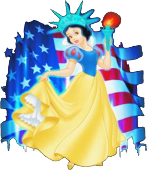 Snow White 4th Of July Independence Shirt