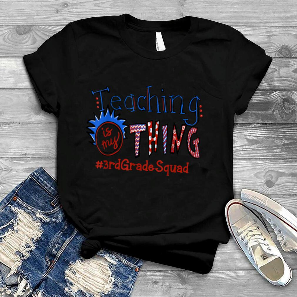 3rd Grade Team Back to school Squad First day of school T Shirt