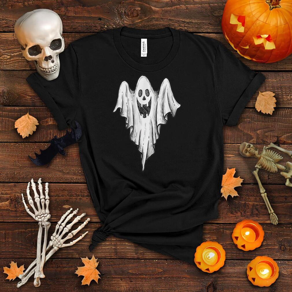 Funny Halloween Ghost T Shirt