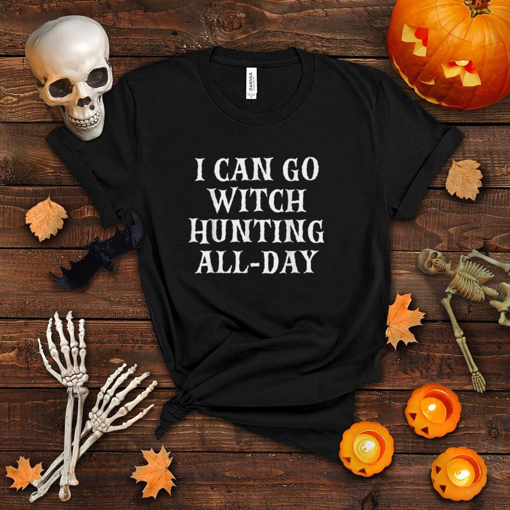 Witch Hunter Funny Halloween Party T Shirt